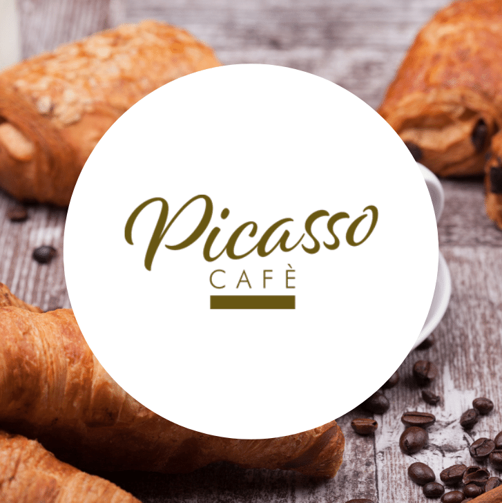 Logo Bar Picasso Cafè Morbella Latina